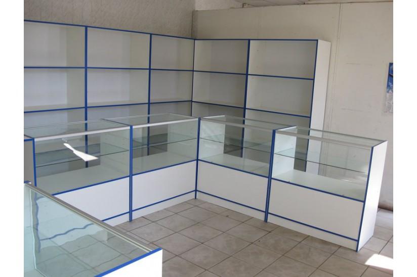 Продам торговое оборудование мебель для магазина из лдсп и стекла в Ставроп